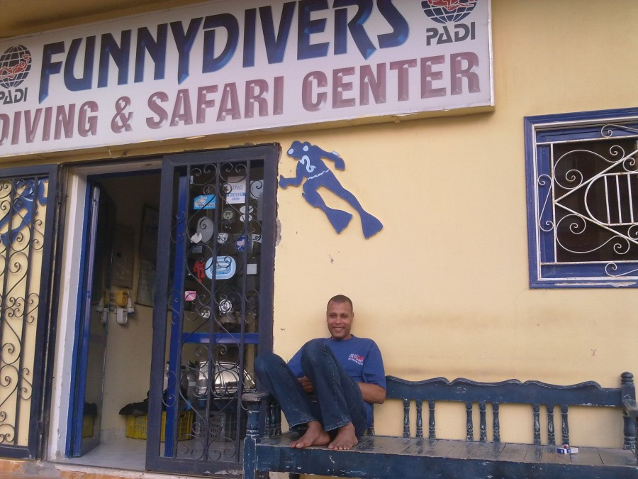 Funny Divers in Hurghada